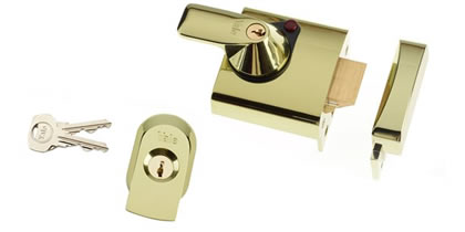 British standard night latch by Stockwell locksmith
