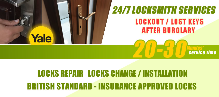 Church End locksmith services